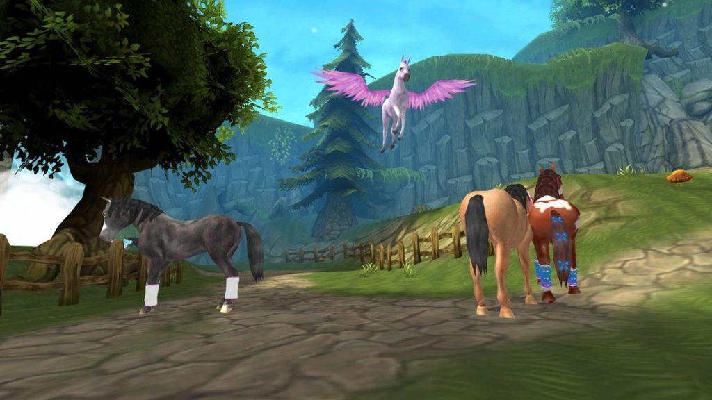 скриншот из Horse Paradise – My Dream Ranch