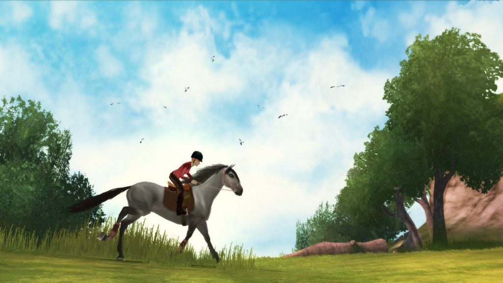 скриншот из Petz Horse Club