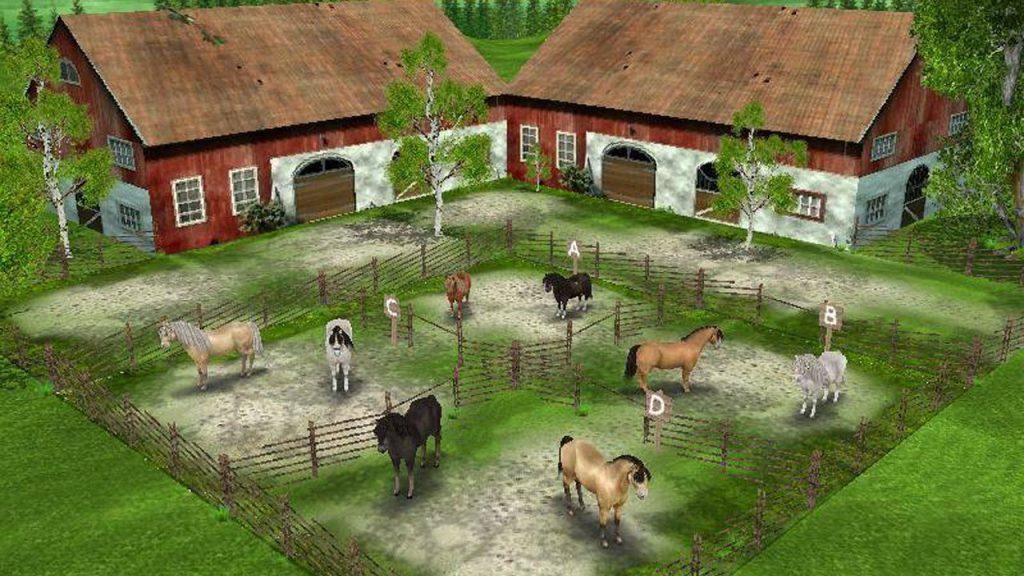 скриншот из my first pony