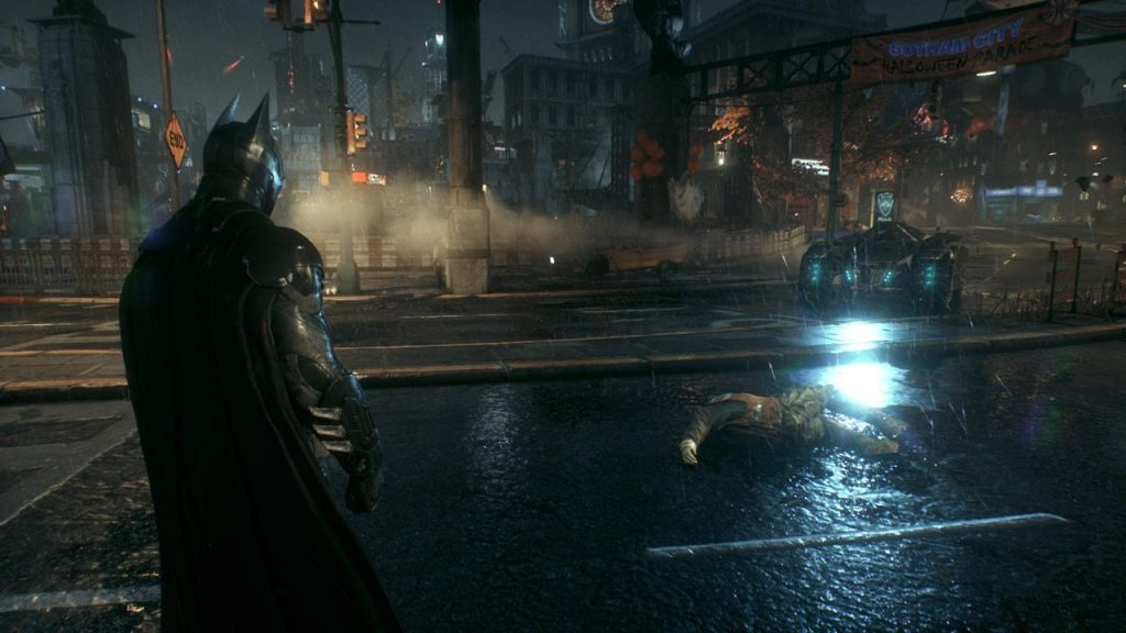 скриншот из Batman Arkham knight