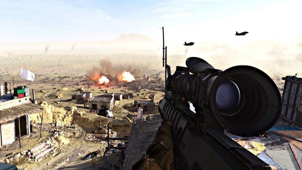 скриншот из Call of Duty