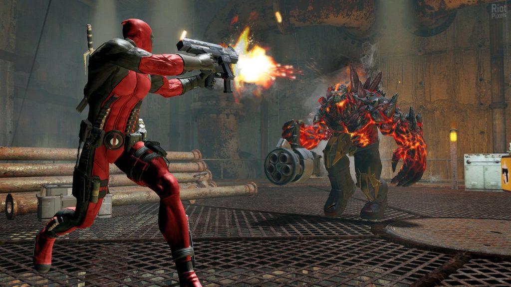 скриншот из Deadpool