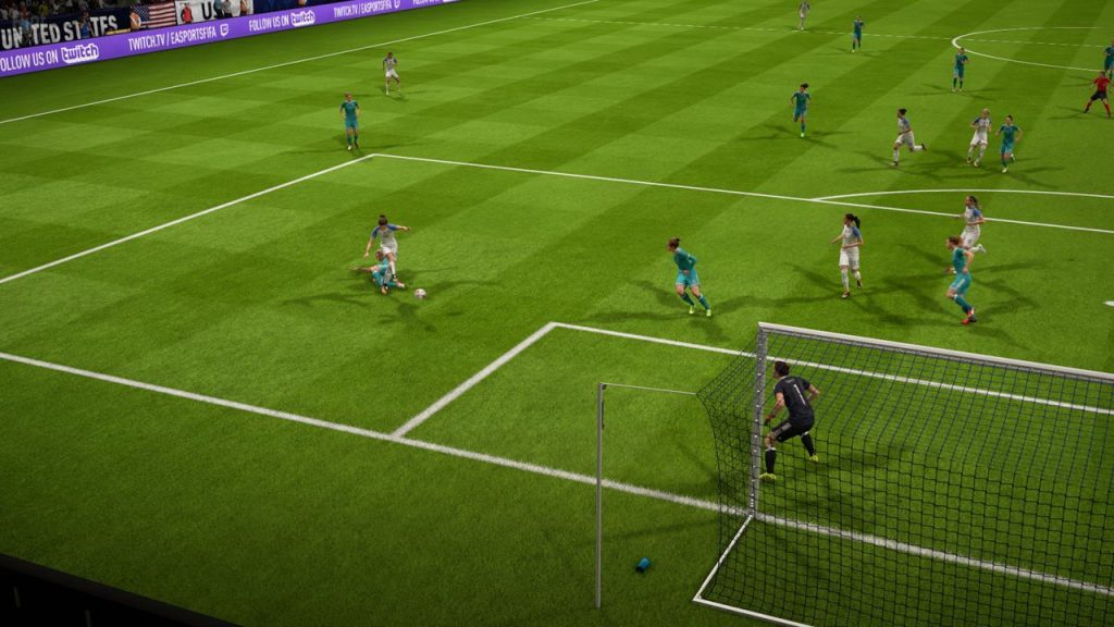 скриншот из FIFA