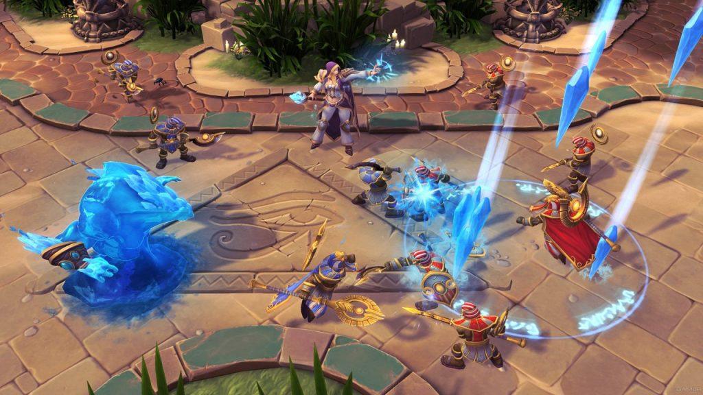 скриншот из Heroes of the Storm