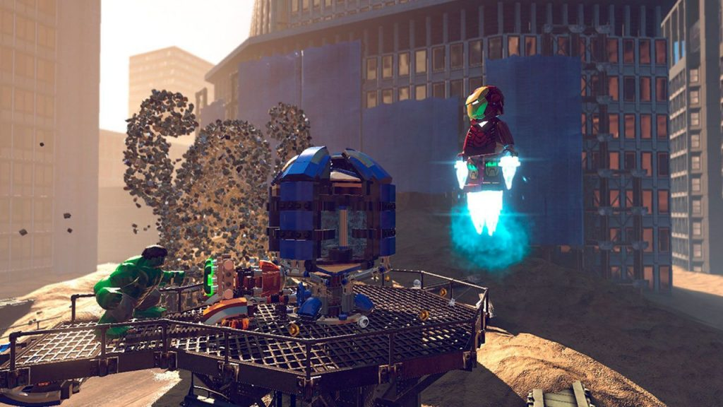 скриншот из LEGO Marvel Super Heroes