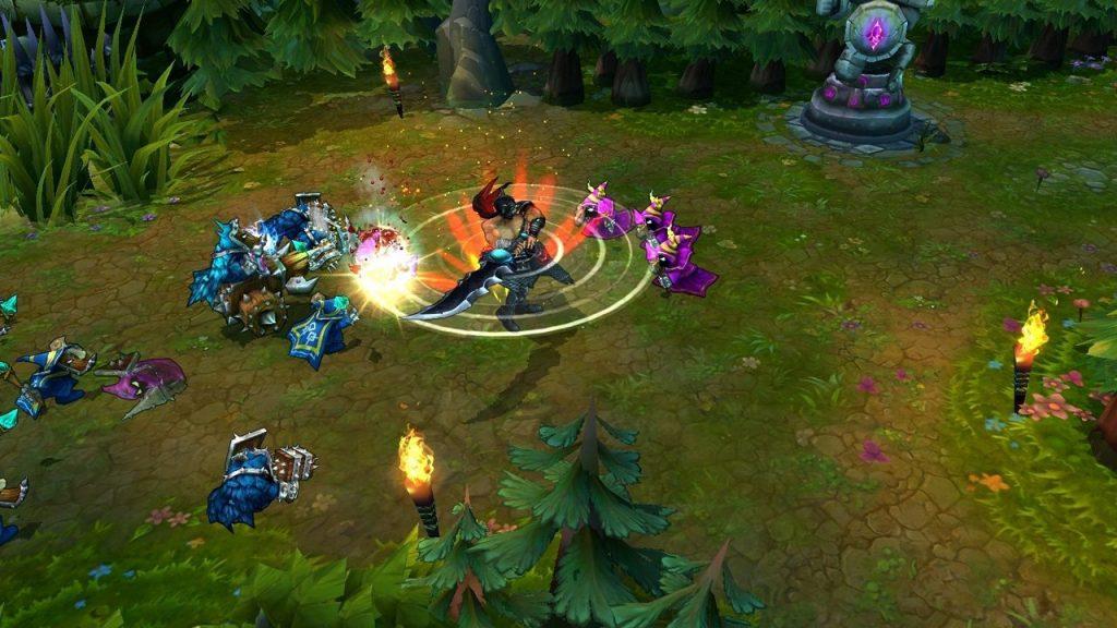 скриншот из League of Legends