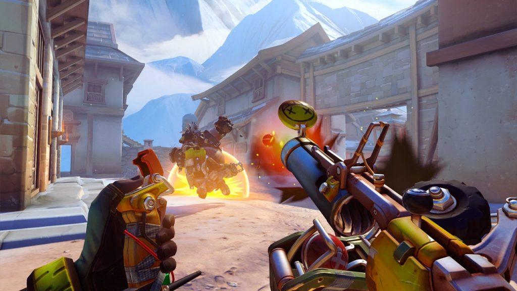 скриншот из Overwatch