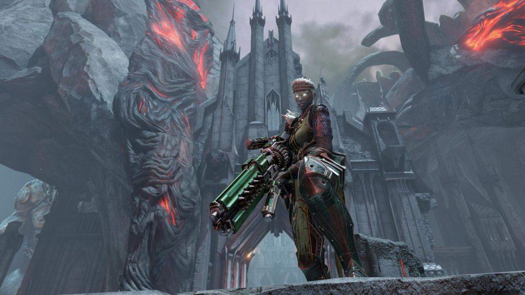 скриншот из Quake Champions