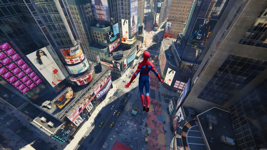 скриншот из Spider-Man