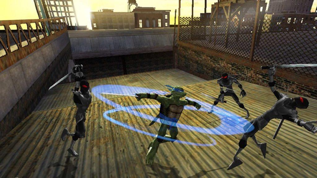 скриншот из Teenage Mutant Ninja Turtles Video Game