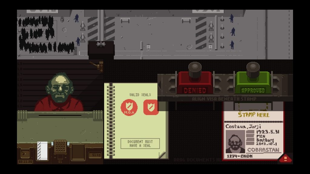 скриншоты Papers, Please