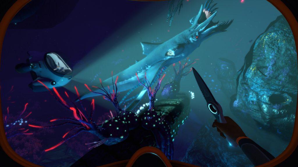 скриншот из Subnautica