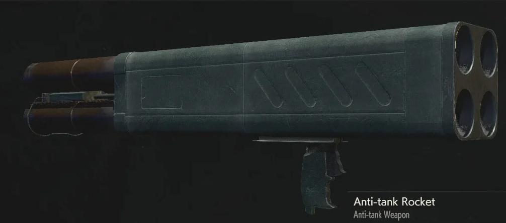ракетница из игры resident evil 2 remake